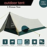 1 Person Camping & Backpacking Tent With Carry Bag And Pegs - Portable Lightweight Easy Setup Hiking Tent(2.65lbs)
