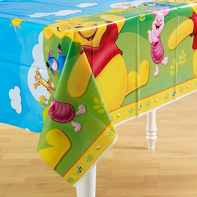 Pooh and Friends Party Table Covers
