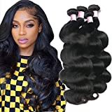 Brazilian Human Hair Body Wave 4 Bundles 24 26 28 30 Brazilian Body Wave Virgin Human Hair Bundles 100% Unprocessed 10A Brazilian Body Wave Remy Human Hair Bundles