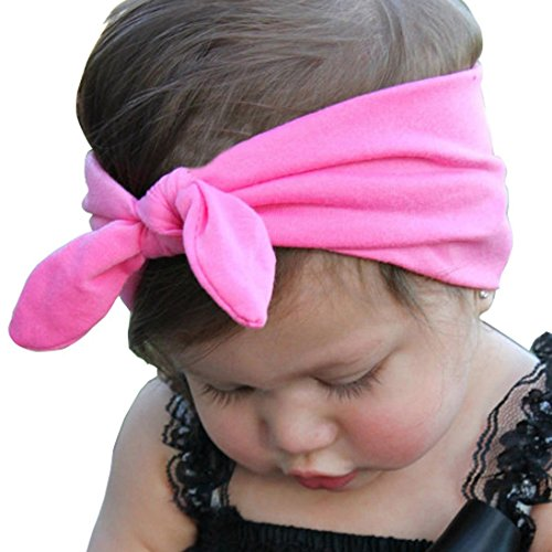 Wholesale AutumnFall TM Children's Baby Girl Rabbit Ears Hairband Elastic Force Hair Band hot sale