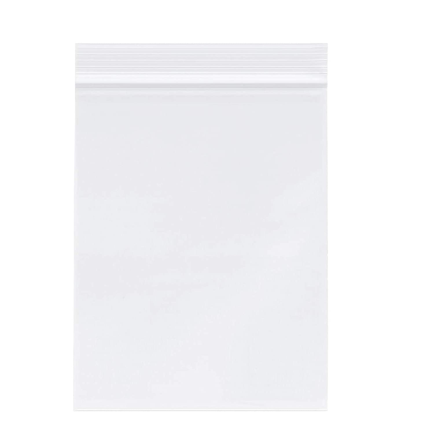 "4"" X 6"" (1000 PCS) Clear Reclosable Zip Poly Plastic Bags - 3.15 Mil Resealable Lock Seal Zipper Poly Bags for Prints, Office Supplies, Beads, Arts & Crafts"