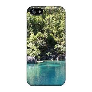 JamieBratt Apple Iphone 5/5s Scratch Protection Mobile Case Support Personal Customs Fashion Heavenly Nature Skin [SLM24530dErc]