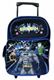 DC Batman Large Rolling Backpack, Bags Central