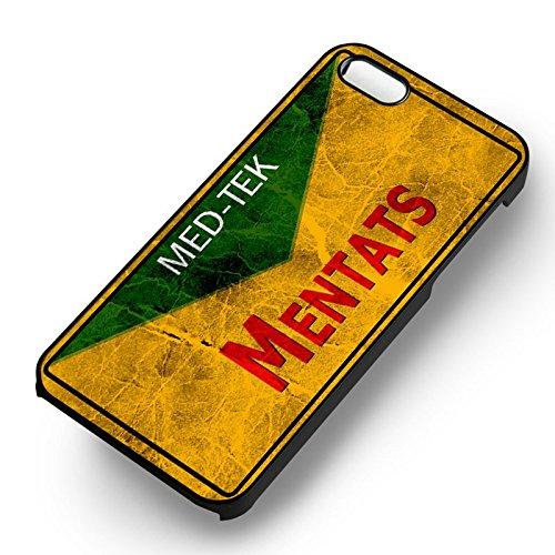 Fallout Mentats pour Coque Iphone 6 et Coque Iphone 6s Case (Noir Boîtier en plastique dur) L4M1PE