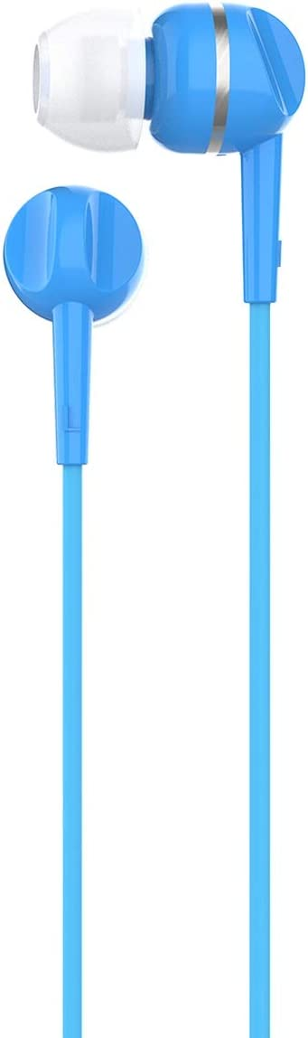 Top Quality Motorola Pace 105 in-Ear Stereo Sound Headphones with Microphone - Blue Blue eDVqeRg