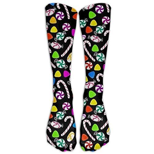 Needlepoint Candy (Girdsunp Candy Compression Socks for Men & Women,Graduated Athletic Socks Reduce Muscle Soreness,Best for Running,Sport,Travel,Nurses,Medical,Pregnancy,Marathon,Flight,Funny Socks)