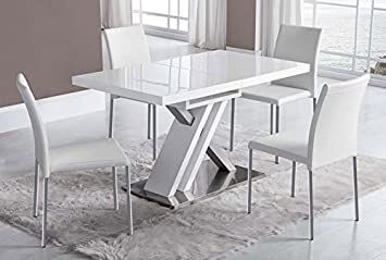 Modern dining tables: Model DT-16 130 (170) x 80 x 76: Amazon.co.uk ...