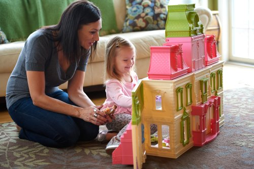 Fisher Price Loving Family Dream Dollhouse With Caucasian Import