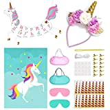 Unicorn Birthday Party Supplies for
