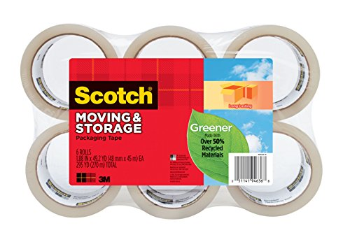 6 pack scotch packaging tape - 5