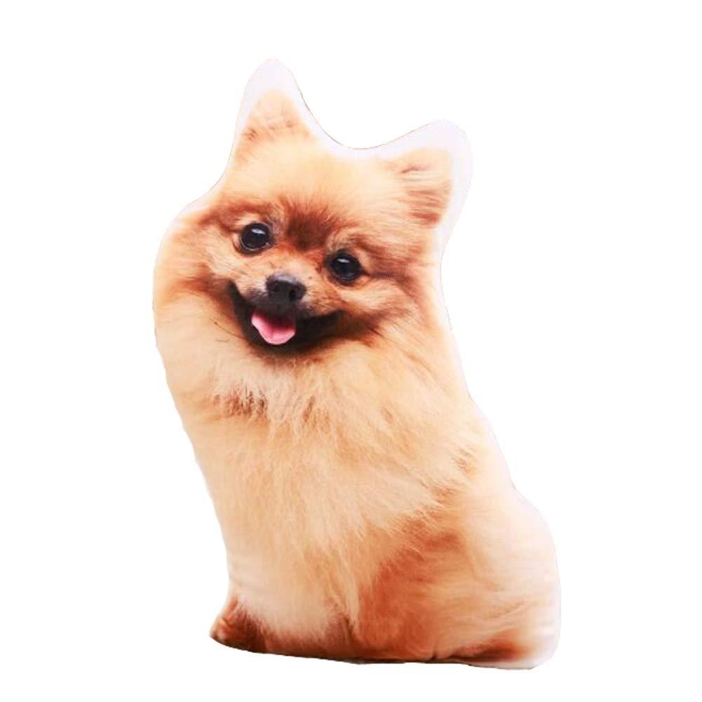 East Majik Simulation Dog Shape Pillow 3D Plush Toy Animal Pillow #2