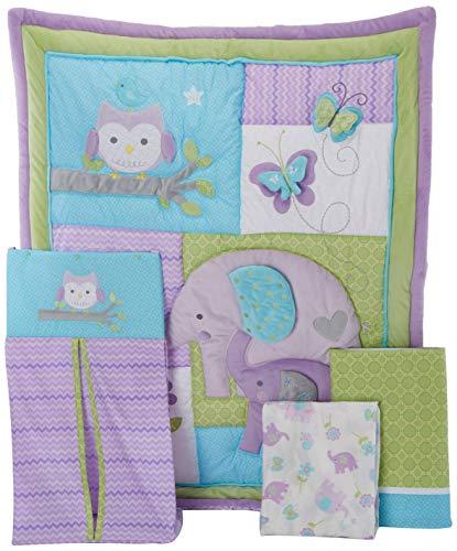 Carter's Animals Collection 4 Piece Crib Set