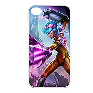Vi-003 League of Legends LoL case cover for Apple iPhone 4 / 4S - Rubber White