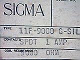 RELAY SIGMA 11F-9000 G-SIL 11F9000 11F9000GSIL