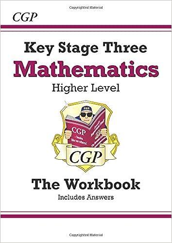 Ks3 Maths Workbook With Answers Higher Cgp Ks3 Maths Amazon