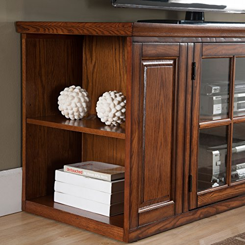 oak tv stands for flat screens - 1