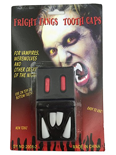 Fund Deluxe Custom Fangs Horror Werewolf Teeth Halloween Party Decoration Costume Makpup (Werewolf Outfits Halloween)