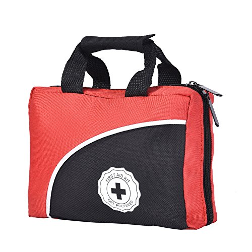 First Aid Kit Medical Supply Survival Gear Bag for Car Home Office Outdoor Camping Hiking Travel Sports Earthquake Emergency Kits by Reebow Tactical Gear