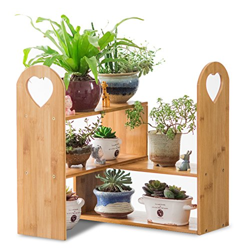 Plant display stand Plant flower pot rack,Wrought iron Creative Multi-layer Flower rack Desktop Fleshy flower pot rack Small Flower rack Perfect for home Garden Patio-B (Of Outdoor Out Wood Furniture Pallets)