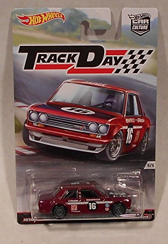 Hot Wheels Track Day Datsun Bluebird 510 1:64 Die Cast ()