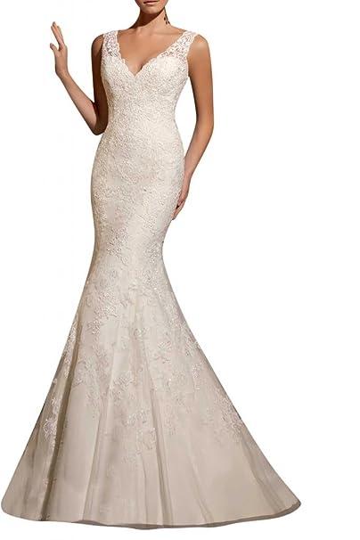 Toscana glamour de novia vestidos de novia de tul de largo sirena princesa vestidos de novia