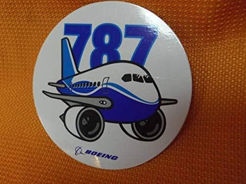 ⑫ JAL ボーイング787 ステッカー BOEING 航空会社エアライングッズ 旅行国内線