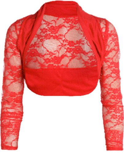 Likes Style - Torera - para mujer Rojo - rojo
