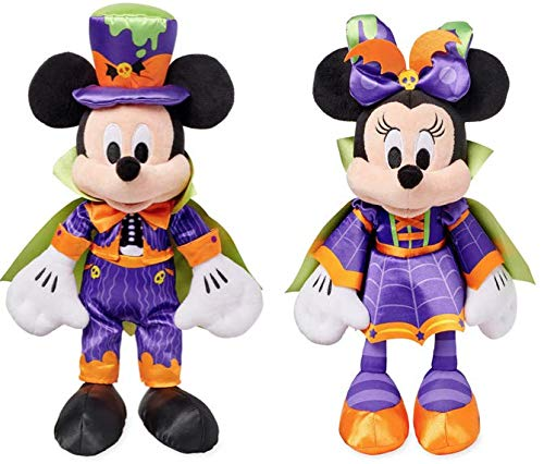 Mickey and Minnie Halloween Plush Doll -