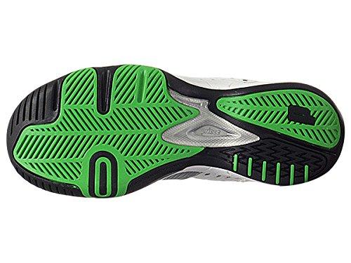 Prince Men's 8P984149-T22 Tennis Shoe,White/Black/Green,12 M US