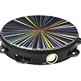 "Remo TA-4108-48 Radiant Tambourine Single Row 8"" Drum Multi"