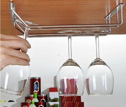 6 Bottle Under Cabinet Wine - 8