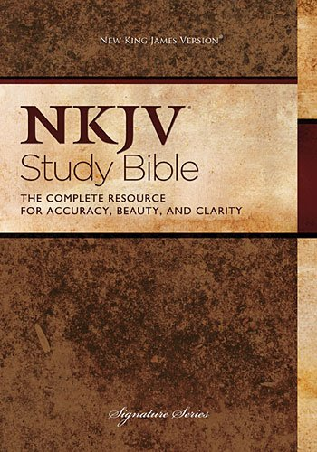 NKJV Study Bible, Hardcover