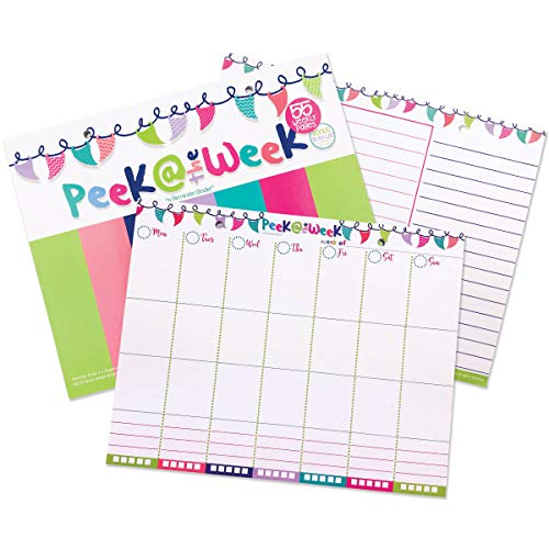 Sale! Weekly Planner Pad with Daily Vertical Layout and Tear Off to Do Lists, 8x10 55-Pages Best for Weekly Planning, Organizing and Scheduling
