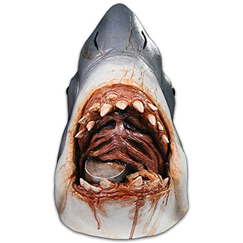 Trick or Treat Studios Men's Jaws-Bruce The Shark Mask, Multi, One Size ()