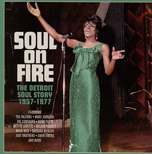 Soul On Fire ~ The Detroit Soul Story 1957-1977 /  Various Artists
