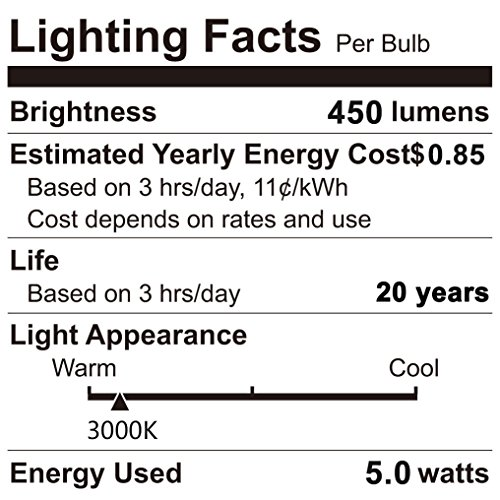 50 000 Hour Lifespan Led Light Bulbs in US - 5