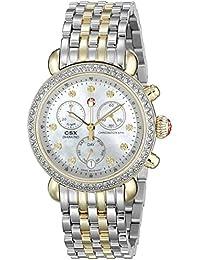 Women's MWW03M000158 CSX-36 Analog Display Swiss Quartz Silver Watch