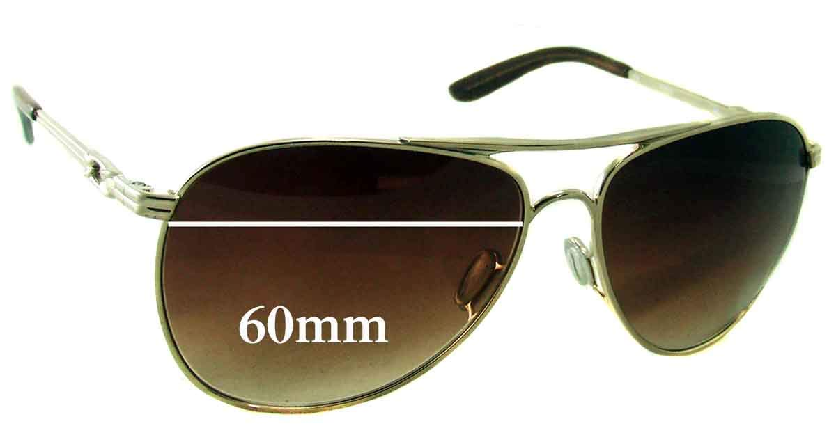 294b5deb0c Amazon.com  SFx Replacement Sunglass Lenses fits Oakley Daisy Chain 4062  60mm Wide (Polycarbonate Clear Hardcoat Pair-Regular)  Clothing