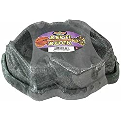 Zoo Med Repti Rock Reptile Food Water Dishes (Small)