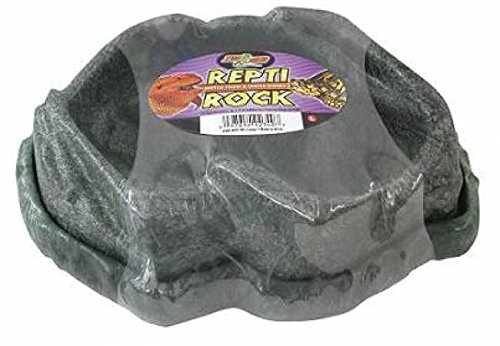 (Zoo Med Repti Rock Reptile Food Water Dishes (Small))