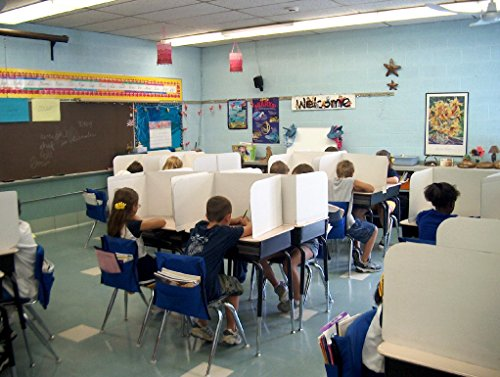 Classroom Products Privacy Shield 13 Inch Tall - Kraft - (Pack of 30) by Classroom Products (Image #3)