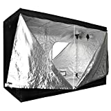 9.8 x 5 x 6.5 Ft Hydroponic Indoor Garden Grow Dark Room Tent Box Reflective Interior Mylar 118″x60″x78″ Cabinet Hut For Sale