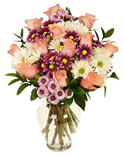 Benchmark Bouquets Life is Good Flowers Pink, No Vase