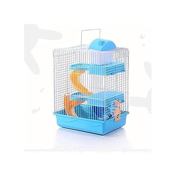 3 Plantas Pet Hamster Jaula Casa Portátil Ratones Inicio La ...