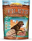 Zuke's Z-Filets Dog Treats, Savory Venison Recipe, 7.5-Ounces