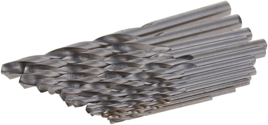 Utoolmart 150mm Length 1//2 inches High-speed Steel Metal Twist Drill Bit Shank//Retractor Drill Bit Set Tool Straight Shank Rolling Process 15mm Drill Bit Diameter Milling process 1 pcs