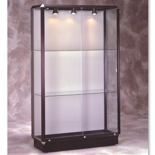Prominence 441/445 Series Lighted Floor Case Frame: Dark Bronze, Lighting: With Interior Lighting (Freestyle Lock)