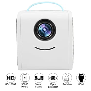 Lazmin Mini proyector LED, Full HD 1080p Compatible, proyector ...