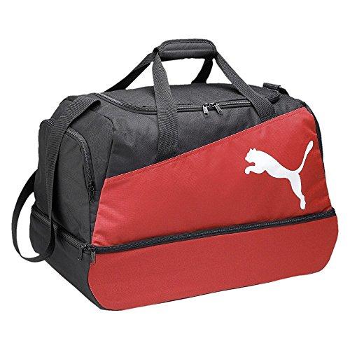 Puma Pro Training Football Bag - black-puma red-white, Größe:-