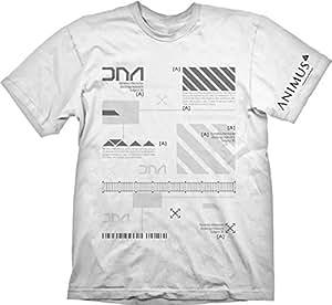 Camiseta Assassins Creed Animus Blanca M